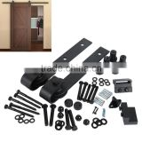 6.6 FT Modern America Style Steel Sliding Barn Wood Door Closet Hardware Track