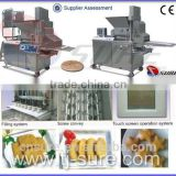 Fish Popcorn Automatic Forming and Coating Processing Line