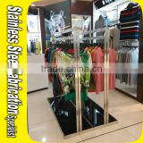Keenhai Custom Made Stainless Steel Hanging Clothes Rack Clothing Rack stand Clothes Hanger Rack