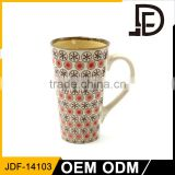 Drinkware ceramic 16oz tall coffee custom mug no minimum, logo mugs no minimum, promotional products no minimum
