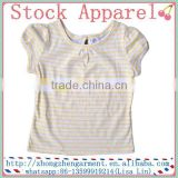 wholesale baby summer clothes kids girl printing t shirts