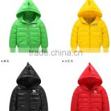 latest kids fashion dianosaur animal cute down clothes,custom made boys padded warm down jacket
