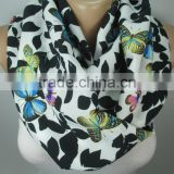 BUTTERFLY Print Scarf Shawl Animal Scarf Infinity Scarf Women Fashion Accessories Christmas Gift Ideas For Her