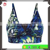 Factory price wholesale custom branded young ladies sexy sports bra