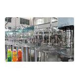 Full Auto 4 In 1 Juice Filling Machine Plastic Bottle Liquid Filler Machine