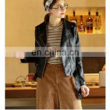 Winter Genuine Leather Jacket Bolero Imitation Leather Jacket Biker Jacket Blazer biker pu jacket