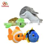 "10"" cute stuffed cartoon movie ocean swim fish plush toys"