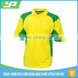 Heat transfer full sublimation dry fit custom new model cricket jersey