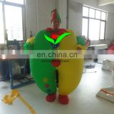 Funny festival Oxford Cloth inflatable clown sumo suit costume