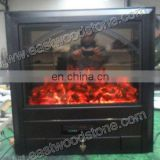 nice cast iron electric fireplace