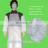 disposable PP apron for food processing/handling