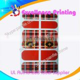 hot sale self adhesive populer nail sticker printer