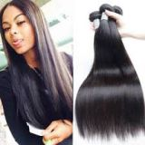 10-32inch Bouncy And Soft Russian  18 Inches Front Lace Human Hair Wigs Natural Black