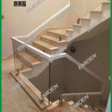 Shenzhen Yimeiden Stairs Supply High-end Office Place / Hotel Glass Staircase Handrails