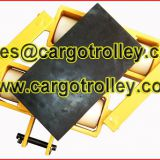 Moving roller dolly quality certificate