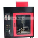 Foam Horizontal Vertical Burning Tester Plastic Textile Foam Performance Testing Machine