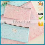 beautiful printing PVC zipper file folder document bag