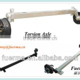 boat trailer rubber torsion axle