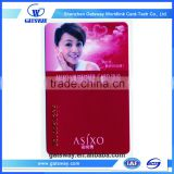 Full color ptinted standard size plastic busienss ic smart card with nfc chip Business Cards Manufacturers