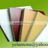 best price melamine particle board from factory