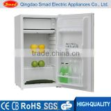 hot selling 90L white color mini refrigerator electric manual defrost mini bar for home using
