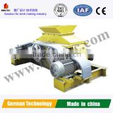 German Technology double roller crusher for clay brick production line