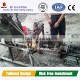 Material cement automatic concrete culvert making machine
