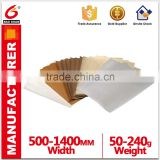 Yellow Glassine Silicone Paper/PE Coated Release Paper