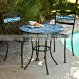 Best selling coral coast marina mosaic bistro set outdoor furniture                                                                         Quality Choice