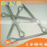 ISO1234 carbon steel Q235 locking cotter pin m1.6