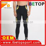 new design high performance sublimation cycling bib pant tights