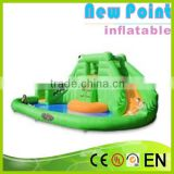 New Point inflatable water slides for summer,climbing inflatable water slides for sale,inflatable water slides for kids