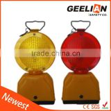 barricade led traffic warn light