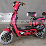 2016 new mini 2 wheel electric city bike without pedal double seat HT