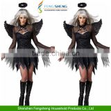 Women's Sexy Cosplay Halloween Dark Angel Devil Costume Bar Party Fancy Dress                                                                         Quality Choice                                                     Most Popular