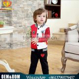 Wholesale 2016 child suit Korean version single-breasted cardigan jacket baby boy clothes set