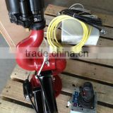 Fire monitor,powerful flow,electric drive and remote control,application on fire fighting,water truck or riot control