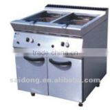 Free Standing Gas fryer With Cabinet(2-tank)(GF-785-2)