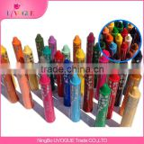 Eco-Friendly En71 Standard Kids Drawing Oil Pasel waterable Lipstick Silky Crayons for Arts Painting