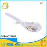 eco friendly antique melamine kitchen products white table spoon
