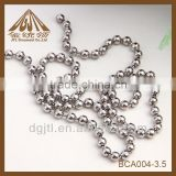 Top quality dog tag ball chain stainless steel