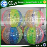 Transparent human sized soccer ball human bubble ball inflatable giant outdoor play ball for rental                                                                                                         Supplier's Choice