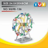 Most popular gift for child combined toy DIY ferris wheel model