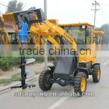 hydraulic portable auger use for earth drill 1.2 meters deep or more