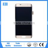 China top ten selling products lcd display touch screen replacement with warranty for samsung galaxy s6 edge G9250