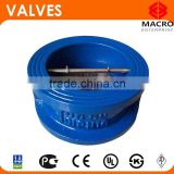 Double Plate Cast Iron Wafer Check Valve