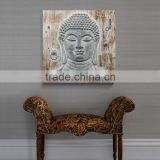 Heavy Texture Abstract Buddha oil painting