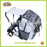 China supplier convienent hunting and fishing chair backpack, fishing backpack with folding chair                                                                         Quality Choice