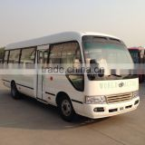 7m 23 seats coaster type mini bus with Dongfeng CY4102BZLQ engine