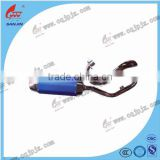 Chinese Motorcycle Parts Mufflers For Motorcycle Muffler Exhaust For 100Cc Best Quality And Service